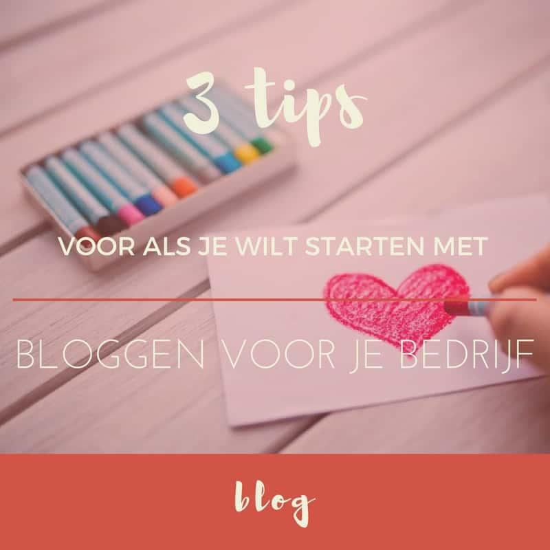 BLOG: 3 tips voor als je wilt starten met bloggen voor je bedrijf | ©VAforAdventure