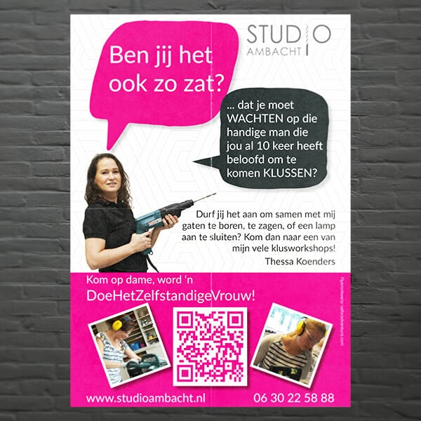 VA for Adventure flyer voor Studio Ambacht