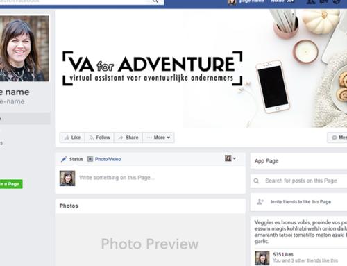 Facebookpagina omslagfoto: VA for ADVENTURE