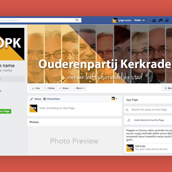 Portfolio VA for Adventure_Facebook Page Mockup vierkant_OPK