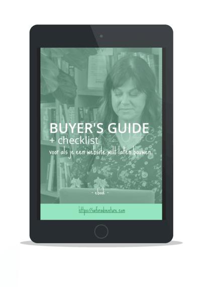 Buyer's guide voor als je een website wilt uitbesteden