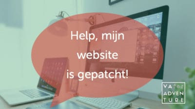 help mijn website is gepatcht_header_VA for Adventure