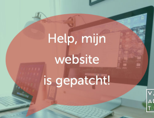 Help, mijn website is gepatcht
