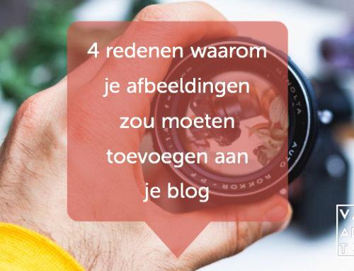 4 redenen waarom je afbeeldingen zou moeten toevoegen aan je blog