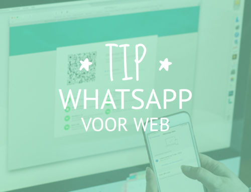 Tip: WhatsApp Web