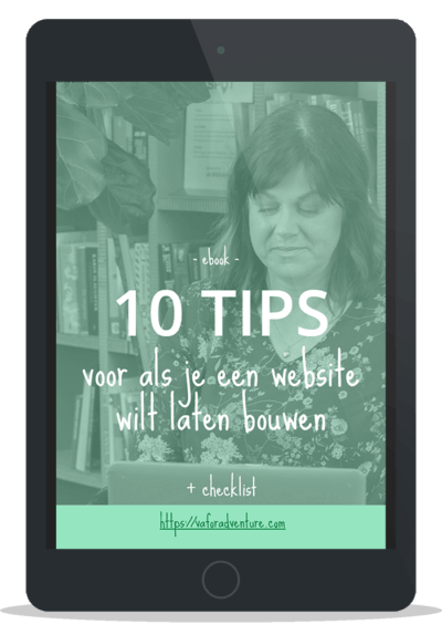 Mockup ebook 10 tips website bouwen